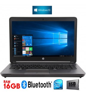 "PC PORTATILE NOTEBOOK HP PROBOOK 640 G1 14"" QUAD CORE I5 RAM 16GB SSD WINDOWS 10"
