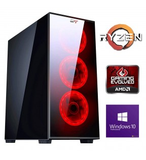 ★ PC COMPUTER ASSEMBLATO AMD RYZEN 5 RAM 8GBHDD 1TB WINDOWS 10 PROFESSIONAL
