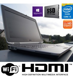 PC PORTATILE NOTEBOOK DELL LATITUDE E6430 CORE I5 SSD RAM 8GB HDMI WINDOWS 10 PROFESSIONAL