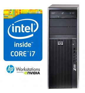 PC WORKSTATION RICONDIZIONATA HP Z400 QUAD CORE i7 RAM 4GB NVIDIA GT620 1GB