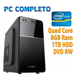 ★ COMPUTER DESKTOP INTEL QUAD CORE/8GB/1TB/DVDRW/USB 3.0