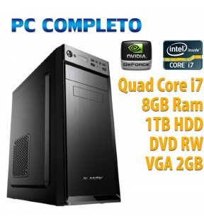 ★ PC COMPUTER DESKTOP GAMING QUAD CORE i7/8GB/1TB/DVDRW/VGA 2GB/USB 3.0