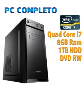 ★ PC COMPUTER DESKTOP INTEL QUAD CORE i7/8GB/1TB/DVDRW/USB 3.0