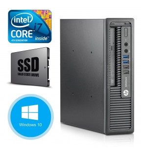 PC RICONDIZIONATO INTEL QUAD CORE I7 4790 HP ELITEDESK 800 G1 SFF 8GB WINDOWS 10