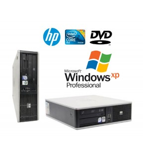 PC DESKTOP HP COMPAQ DC7900 DUAL CORE RAM 4GB DVDRW WINDOWS XP PROFESSIONAL