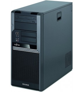 PC Workstation Fujitsu Celsius W380 Core i5 3.2GHZ RAM 4/8/16GB SSD VGA 4GB DED.