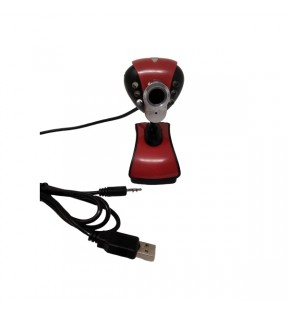 Webcam digital camera con flash USB 24MPX HD pixel