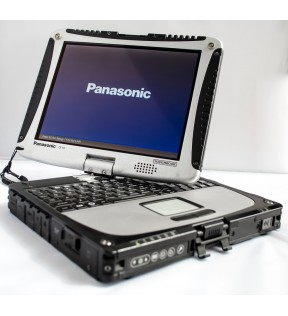 "PC PORTATILE PANASONIC CF-19 TOUGHBOOK 10"" TOUCH FULL RUGGED CORE I5 SSD WIN 10"