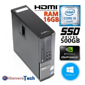 PC GAMING DELL 7010 QUAD...