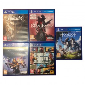 5 GIOCHI PLAYSTATION 4 PS4...