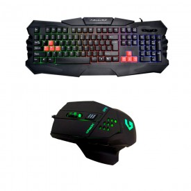 MOUSE + TATIERA GAMING USB...