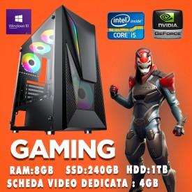 PC ASSEMBLATO GAMING Vetro...