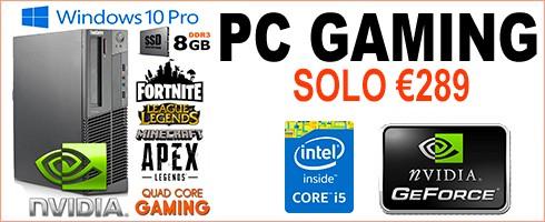 PC GAMING RICONDIZIONATO LENOVO M92P
