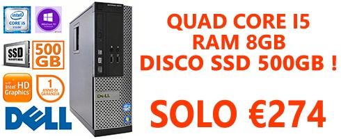 PC RIGENERATO DELL OPTIPLEX 7010